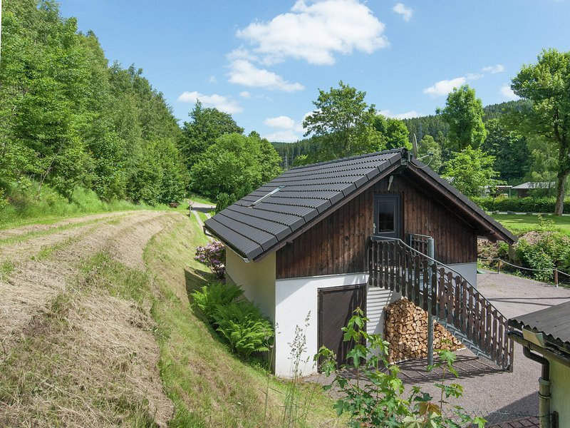 Holiday apartment in a sunny setting in the middle of the Thuringian Forest, location de vacances à Lauscha