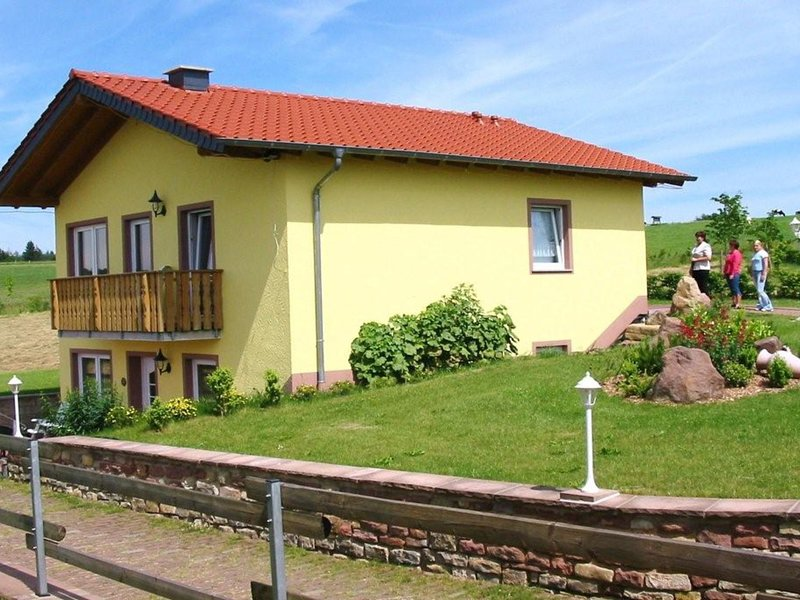 Very well equipped apartment with a balcony on one side and a terrace on the oth, holiday rental in Bitburg