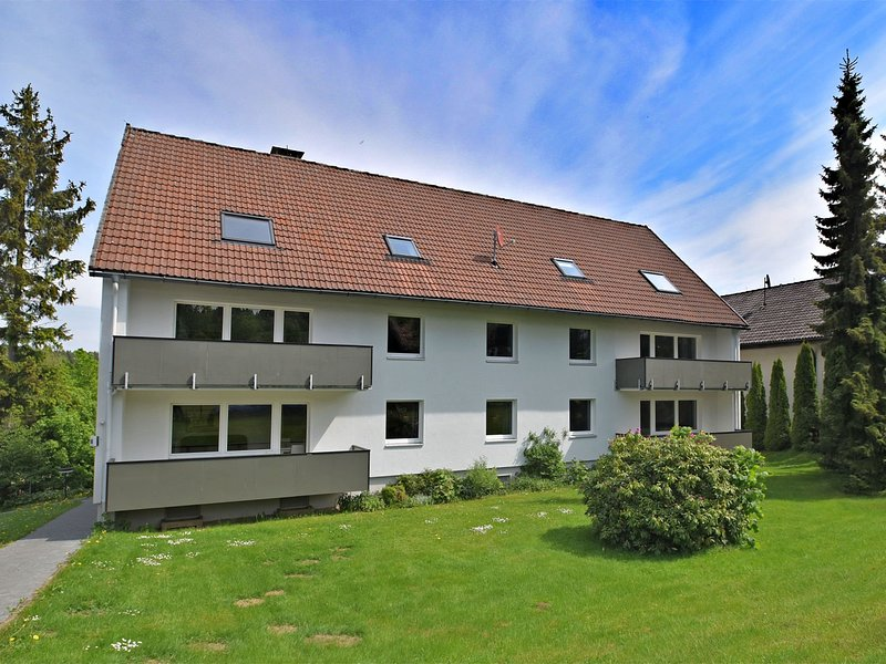 Bright and modern apartment with balcony in Braunlage in the Harz region, aluguéis de temporada em Elend