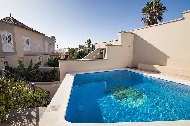 Spacious villa with swimming-pool, holiday rental in Chayofa