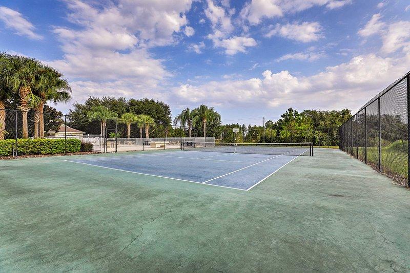 ¿Quién está preparado para un partido de tenis?