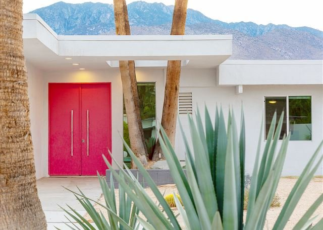 The Pink Door of Little Beverly Hills - from the TV Show: Deser