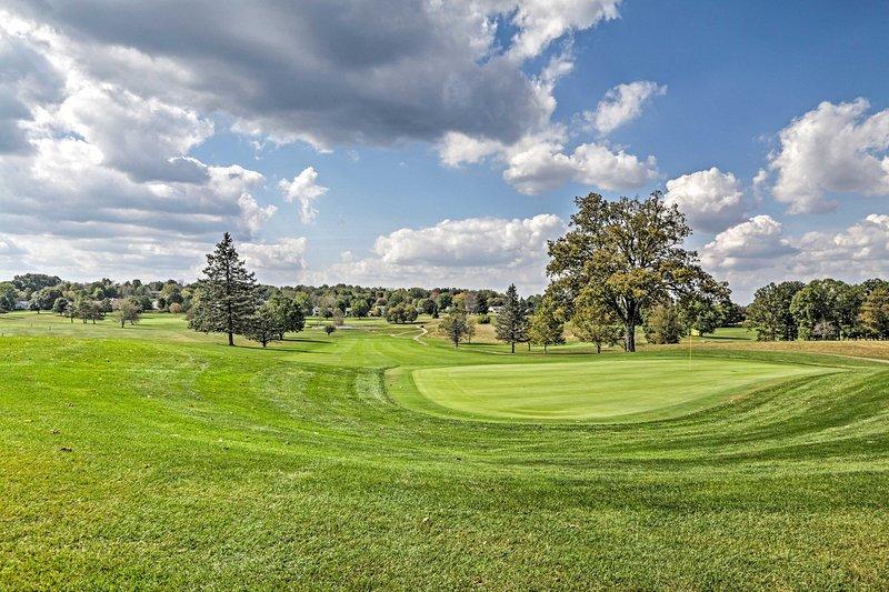 Questo è il paradiso dei golfisti!