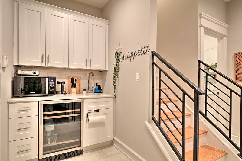 Have access to your own well-equipped kitchen.