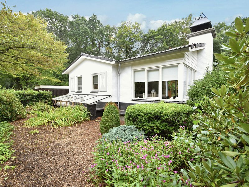Lovely 6-person holiday home with garden, set in the woods of Rijssen-Holten, vacation rental in Markelo
