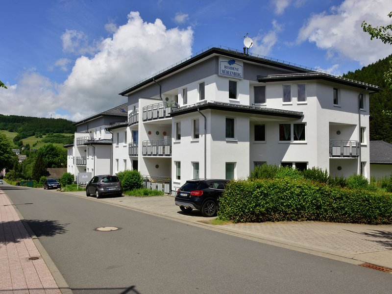 Modern apartment in a holiday resort in the centre of Willingen, location de vacances à Schwalefeld