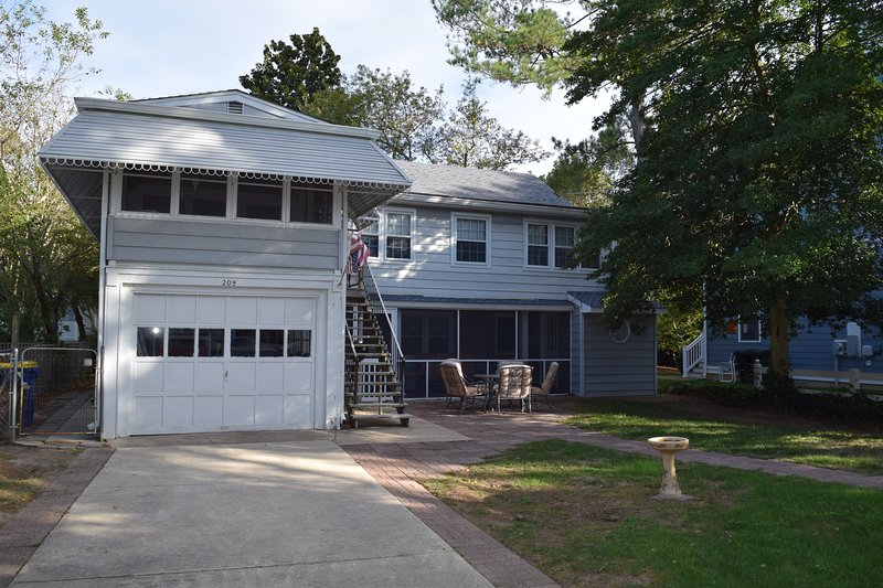 Welcome to 209 New Castle! An original Rehoboth Cottage packed with charm and a lot of outdoor living space!