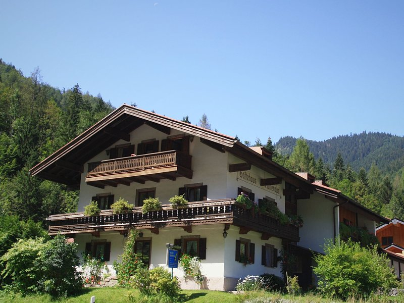 Nice apartment in Rupholding Bavaria with terrace, vacation rental in Ruhpolding