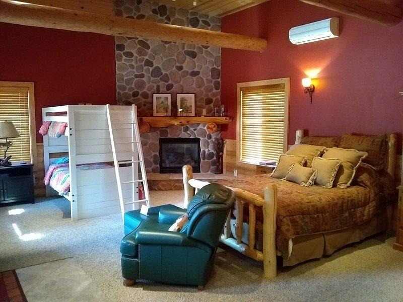 Bunkhouse, disponible por un costo adicional, capacidad para 4.