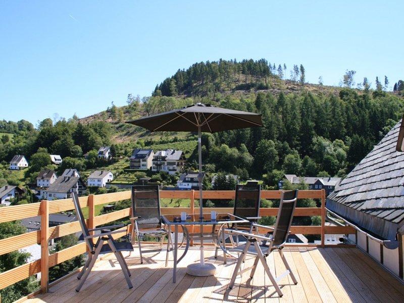 Luxurious Apartment in Willingen Hesse near Ski area, location de vacances à Schwalefeld