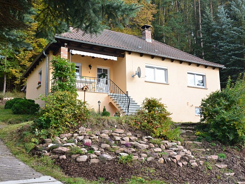 Cozy Holiday Home in Sachspfeife with Sun Terrace, vacation rental in Sonneberg