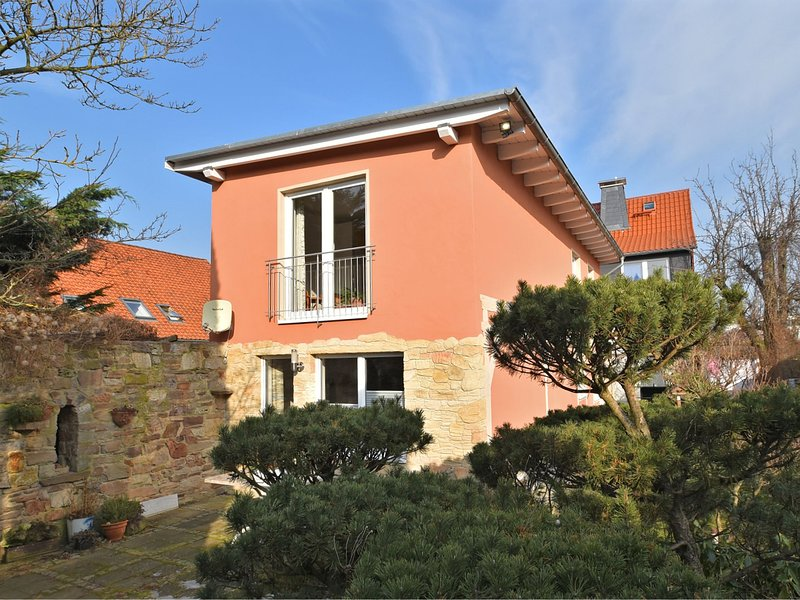 Cosy holiday home in Wernigerode with fireplace and private terrace, alquiler de vacaciones en Wernigerode