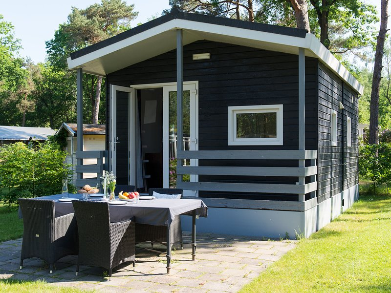 Cosy detached chalet with a terrace near Oisterwijkse Vennen, vacation rental in Haghorst