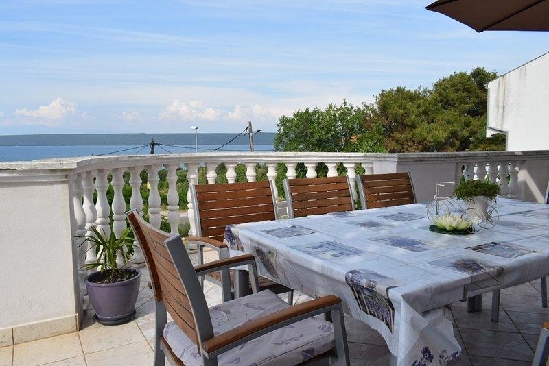 Maja - big apartment with terrace and grill A1(8+1) - Dobropoljana, holiday rental in Dobropoljana