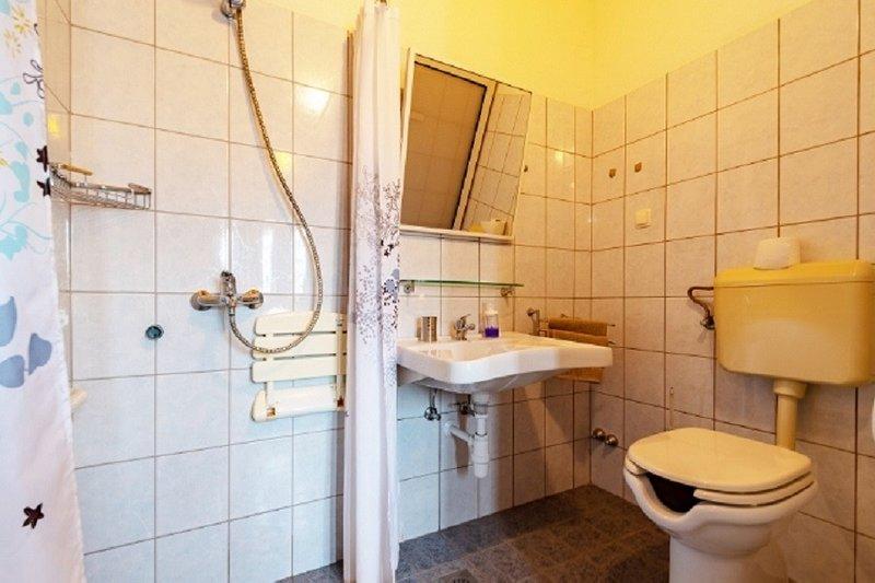 A1 Lucija (2 + 2): bagno con WC