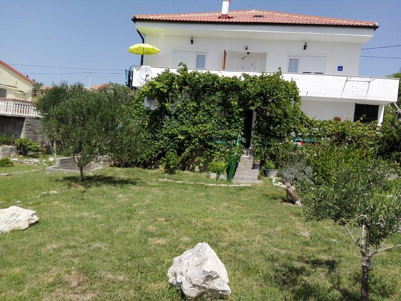 Markas - pet friendly: A1 Bella vista 1 (4+1) - Rtina, holiday rental in Rtina