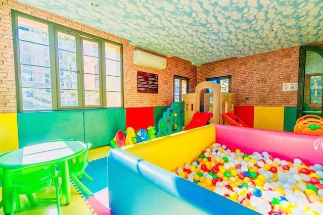 Salle de jeux pour enfants.