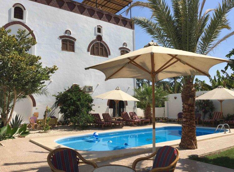 Villa Shams: private pool, max 7 persons, casa vacanza a Luxor