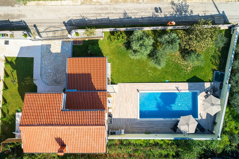 Bird view on Holiday House Captains / Vogelperspektive auf Holiday House Captains