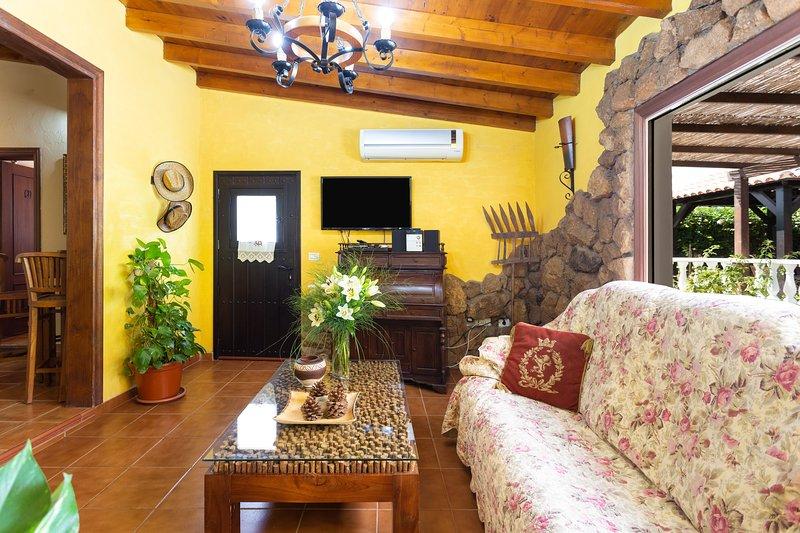 CASA EL CANARIO IN COTTAGE IN ARICO- TENERIFE, vacation rental in San Miguel de Tajao