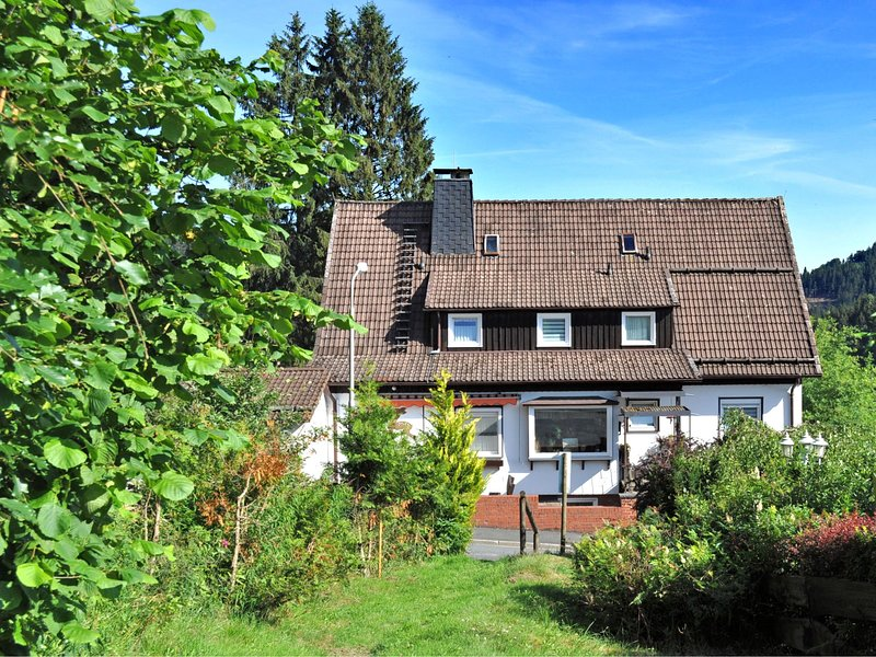 Large apartment in Wildemann in the Upper Harz, at the edge of the forest, holiday rental in Einbeck