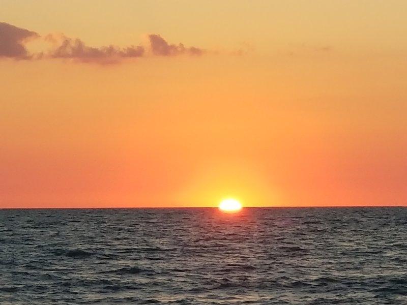 Sunset on Vanderbilt Beach!