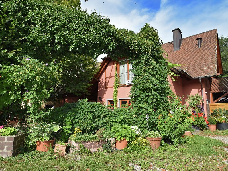 Modern Apartment in Freiburg with garden in the luxury of nature, casa vacanza a Hartheim