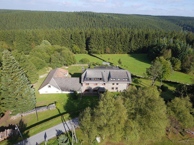 Luxurious Holiday Home in Kalterherberg with Sauna, holiday rental in Leykaul