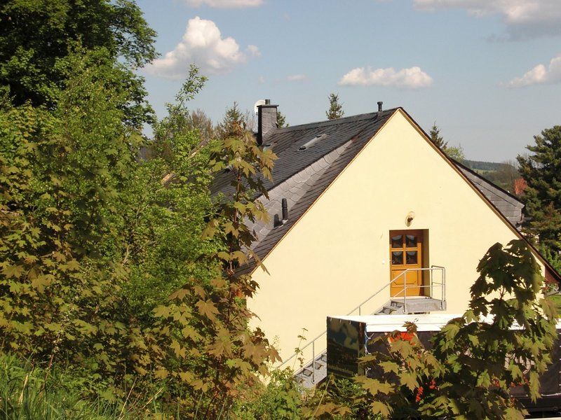 Beautiful apartment in the Ore Mountains with sauna and solarium in a top locati, alquiler vacacional en Joehstadt