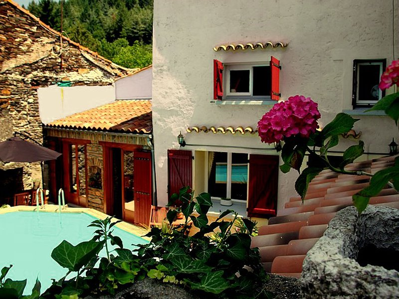 Charming village house with swimming pool, within walking distance of bakery, re, holiday rental in Villardonnel