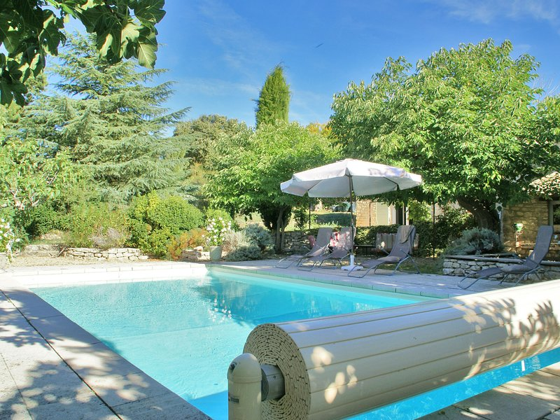 Splendid Villa in Viens with Swimming Pool, vacation rental in Oppedette
