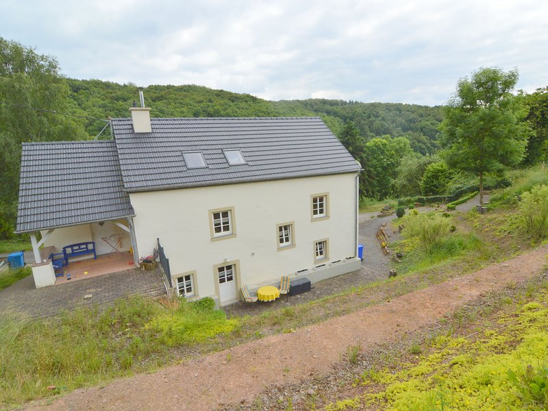 Modern appartment with two badrooms at the edge of a small Eifel village, holiday rental in Pluetscheid