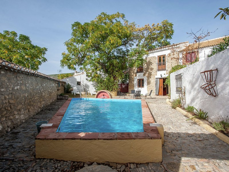 Restored mill with private swimming pool on a property in Algarinejo,  Granada, holiday rental in Loja