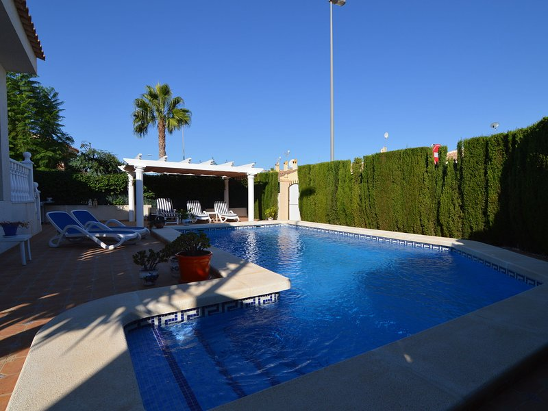 Modern Villa in Benijófar with Private Pool, holiday rental in Algorfa