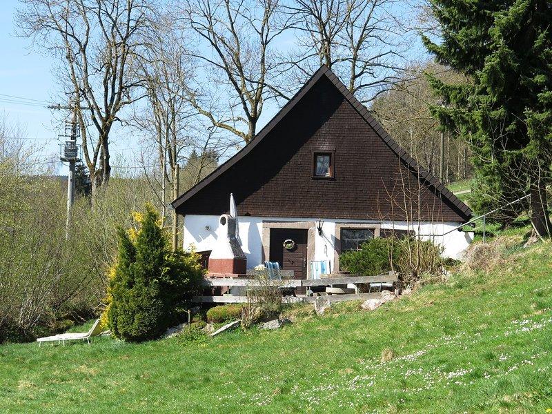 Cozy Holiday home in Baden-Württemberg Germany with private terrace, aluguéis de temporada em St. Georgen im Schwarzwald