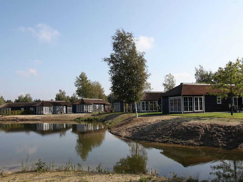 Thatched lodge with a combi microwave, in green Twente, holiday rental in Geesteren