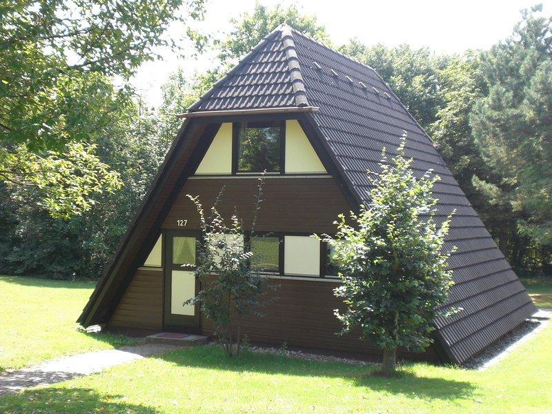 Detached, well-kept bungalow on the Katzenbuckel mountain, holiday rental in Michelstadt