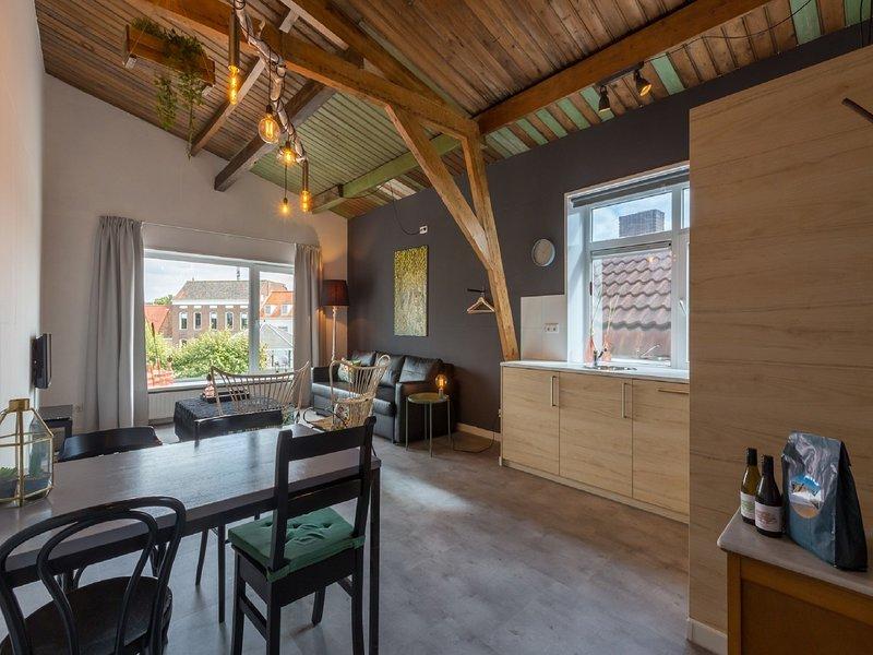 Lovely, modern, 2-4 person apartment in the heart of Koudekerke, location de vacances à Koudekerke