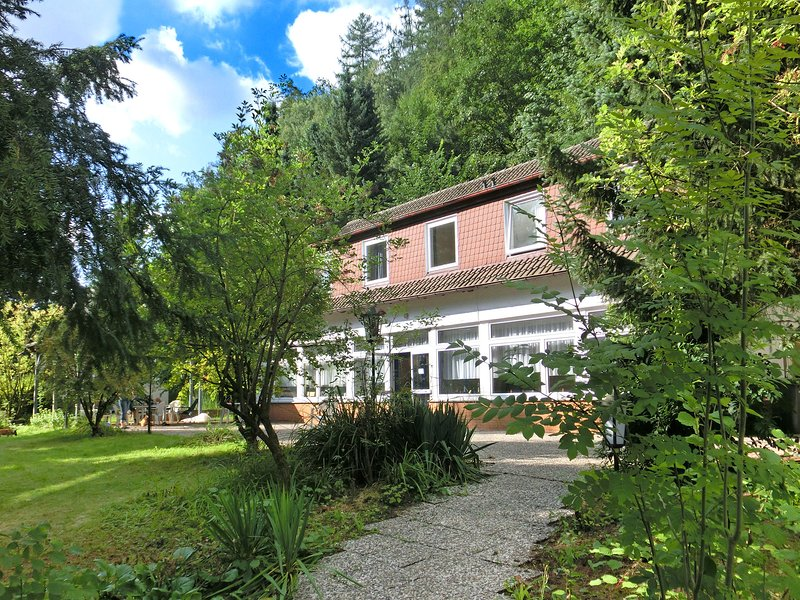 Spacious Holiday Home in Löwensen Lower Saxony near Forest, holiday rental in Bodenwerder
