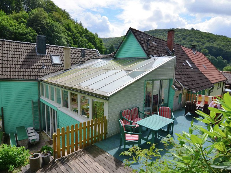 Peaceful Holiday Home with Sauna and Pool in Herzberg, location de vacances à Herzberg am Harz