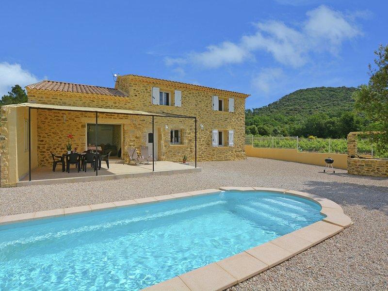 Luxurious Villa in Saint-Laurent-de-Carnols, vakantiewoning in La Roque-sur-Ceze