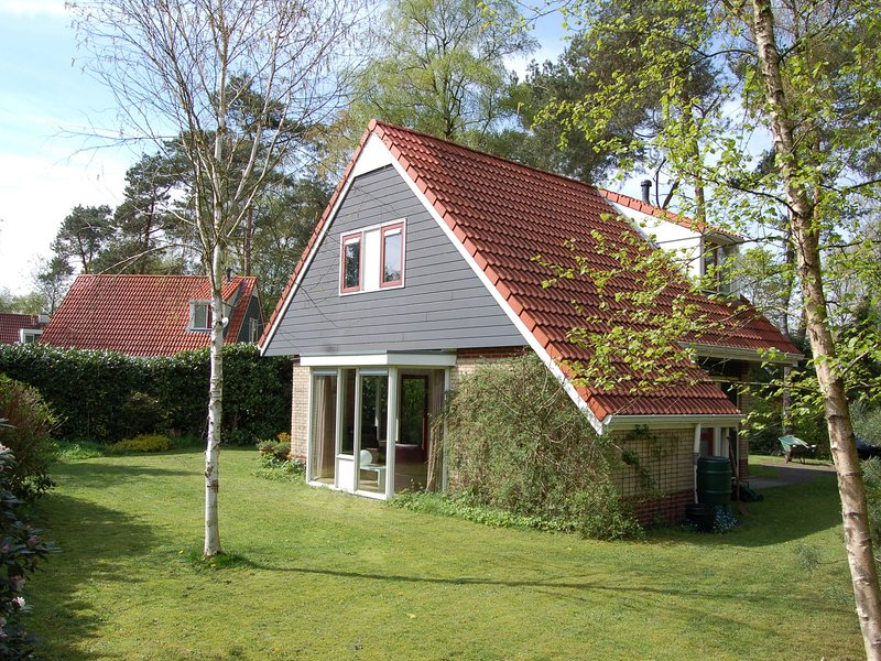Nice holiday home with spacious garden, near De Lemelerberg, holiday rental in Vilsteren