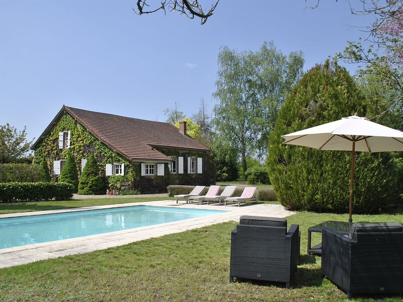 Magnificient Mansion Located in Burgundy with a Pool, holiday rental in Verneuil