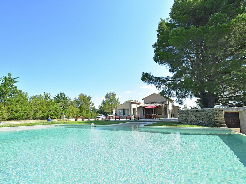 Private infinity pool, beautiful view of Mont Ventoux, a dream spot!, vacation rental in Malaucene
