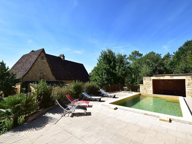 Luxurious Holiday Home in Domme with Swimming Pool, holiday rental in Saint-Martial-de-Nabirat