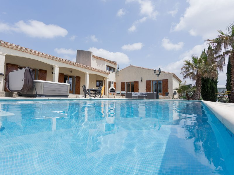 Modern Villa in Félines-Minervois with Private Pool, holiday rental in Rieux Minervois