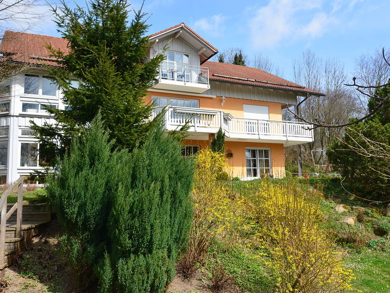 Very well equipped holiday home with sauna, balcony and large garden, holiday rental in Passau