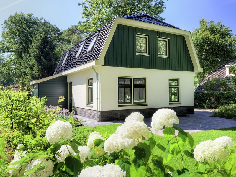 Luxurious villa with dishwasher, in the nature of De Veluwe, holiday rental in Lunteren