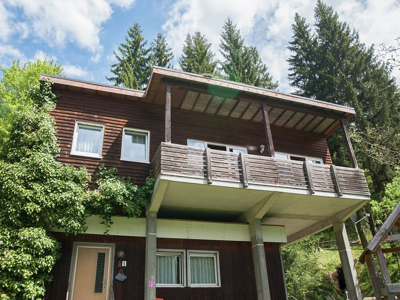 Holiday home in the Großbreitenbach with Sauna, holiday rental in Neustadt am Rennsteig