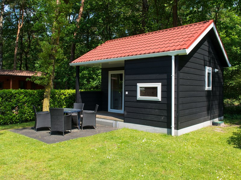 Cosy detached chalet with a terrace near Oisterwijkse Vennen, holiday rental in Haghorst